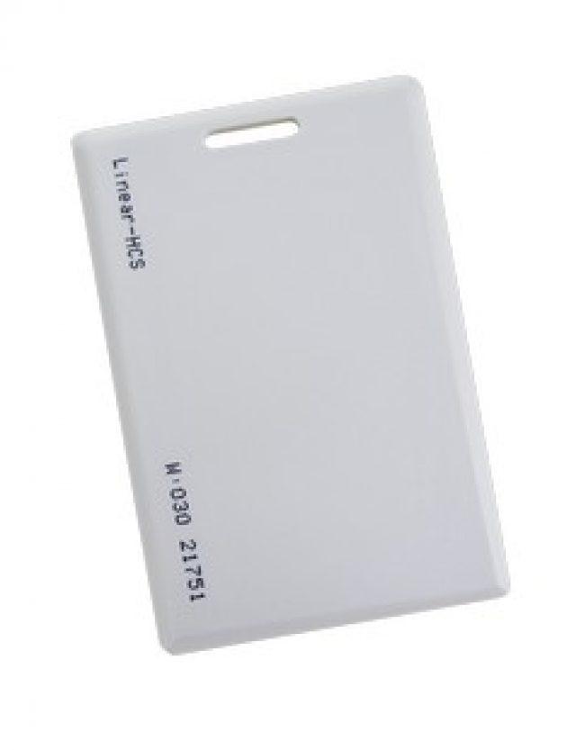 Cartão de proximidade linear 125 kHz. ISO