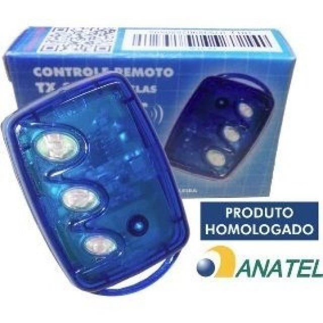Transmissor 3 botões TX 3T-B-linear-HCSTX3TB