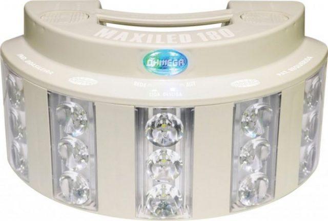 Luminária Maxiled Ohmega- SL-BA180G