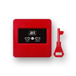 Acionador alarme de incêndio JFL-AMI-700