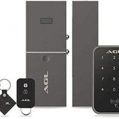 Fechadura eletrônica Smart X cod:smardxagl