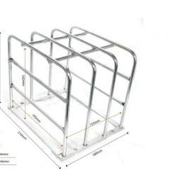 Grade de proteção para câmeras galvanizada-GRADE2