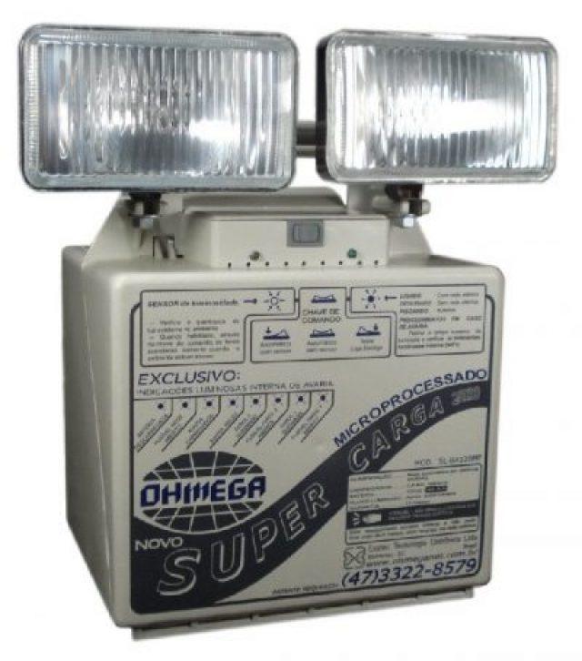 Luminária Emergência Mod. SL-BA120mp